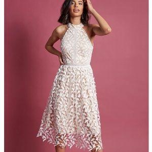 Modcloth Defining Divine Midi Dress in White
